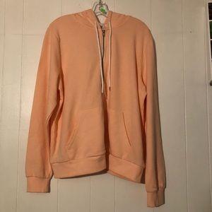 NWT 🍑 peach colored hoodie